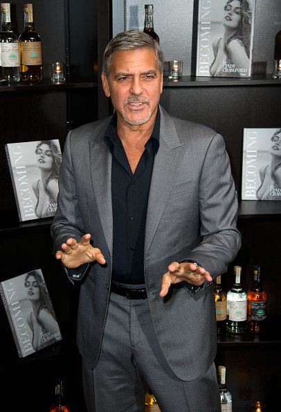 """Sure, it's not unusual for a celeb to have a """"product,"""" but what if I told you George just made $1 BILLION from selling said tequila company?"""