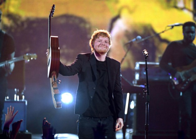 """So obviously this is Ed Sheeran, the singer-songwriter extraordinaire you may know from his jamz such as """"Thinking Out Loud"""" and """"Shape of You."""""""