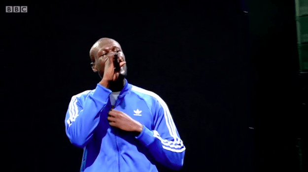 And tonight, Stormzy – who features on the charity single –  used his Glastonbury set to speak about the incident.