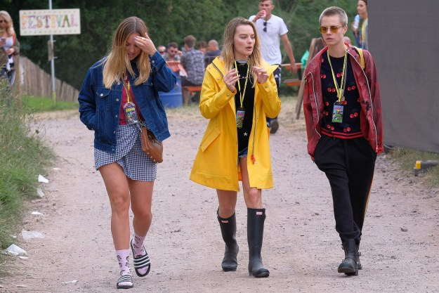 Well, guess what?! There's been a ~Cargot~ reunion at Glastonbury Festival!