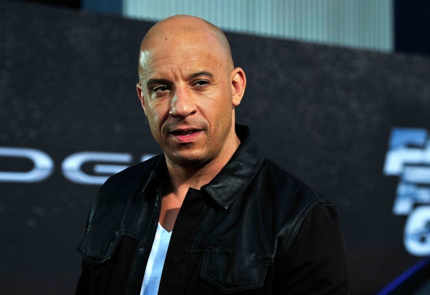 And chances are you've heard of Vin Diesel because he's kind of a huge mega star.