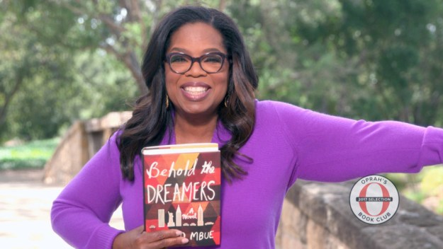 """It's got everything that's grabbing the headlines in America right now,"" Oprah said in her video announcement."