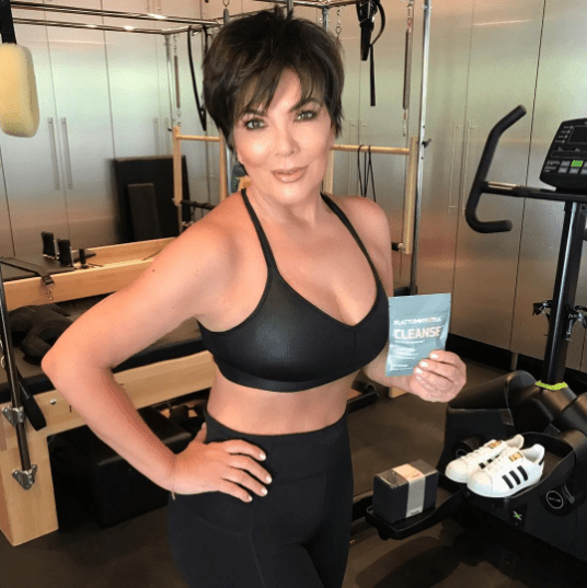 So when I first saw this #sponcon Kris Jenner posted a few days ago on the 'gram, I didn't bat a lash. But then...I began noticing things.