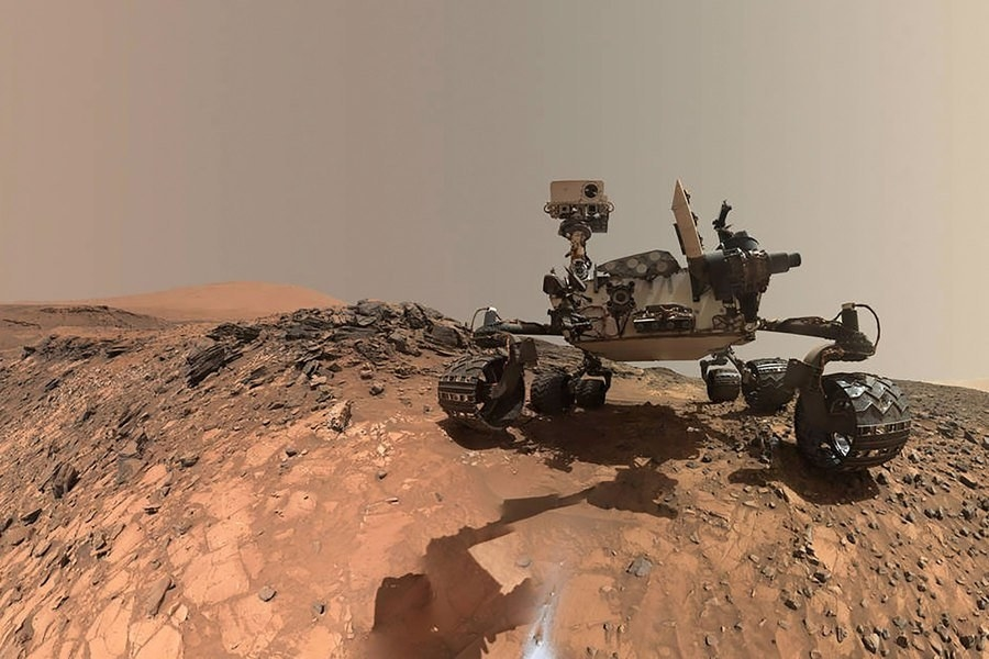 There are currently two active vehicles on the planet's surface, the exploration rover Opportunity and the larger science lab rover Curiosity. NASA lost contact with the Spirit in 2010, after it became trapped in sand.