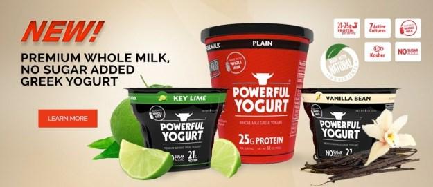 Eat yogurt.