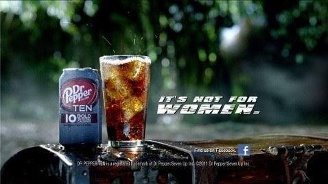 Drink diet soda.