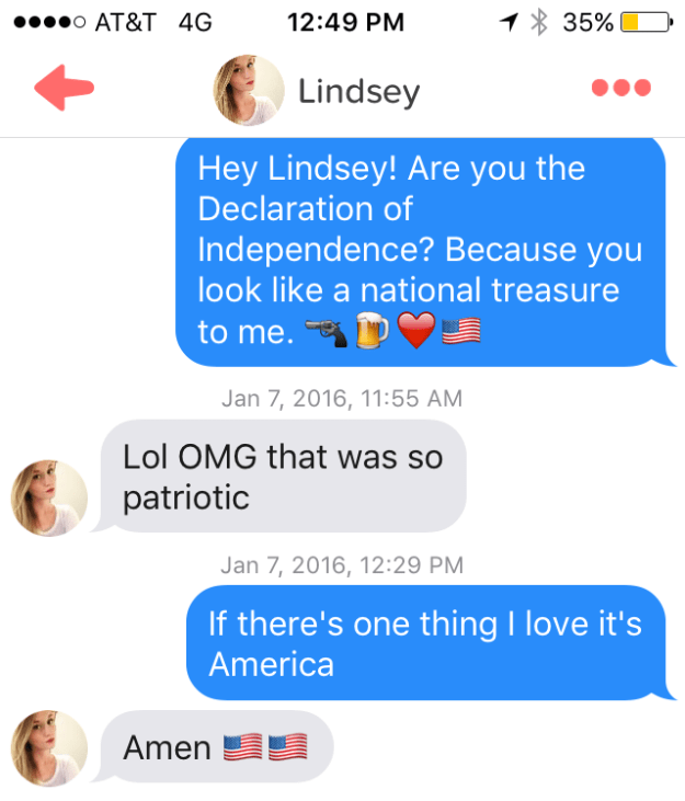 Tinder in the US: