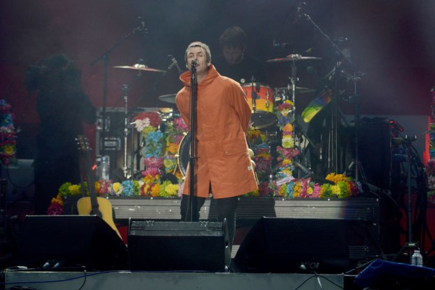 But one of the biggest shocks of the night came when Liam Gallagher, a Manchester native, surprised fans by turning up to perform a medley of Oasis tracks.