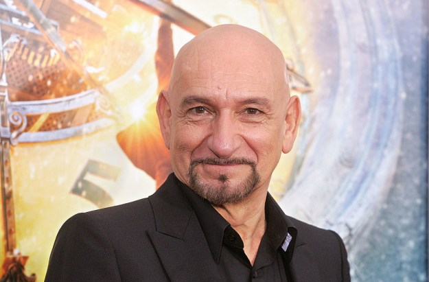 And Sir Ben Kingsley is pretty much just a perfect human being.