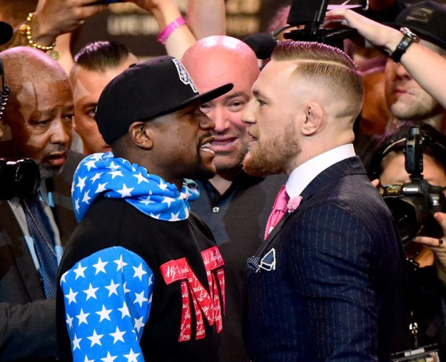 It was recently announced that McGregor would compete in a boxing match against Floyd Mayweather on 26 August. I guess you could say that is also a big, big deal.