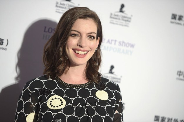 This is Anne Hathaway.