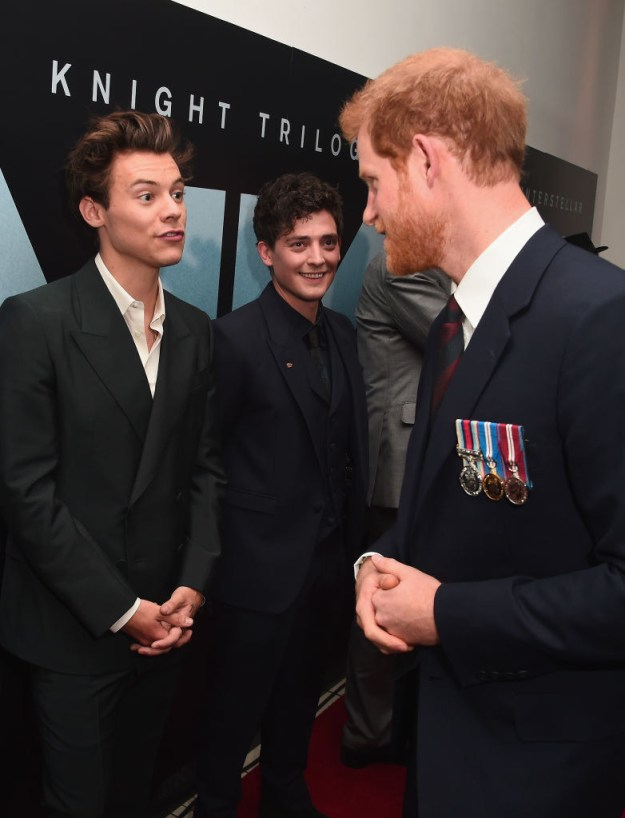 Harry: We were friends for a long time.