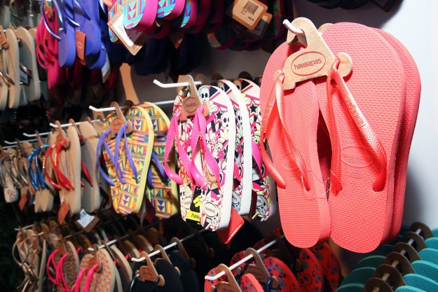 The maker of Hollywood's favorite flip flops has gotten tangled up in Brazil's long-running corruption scandal.