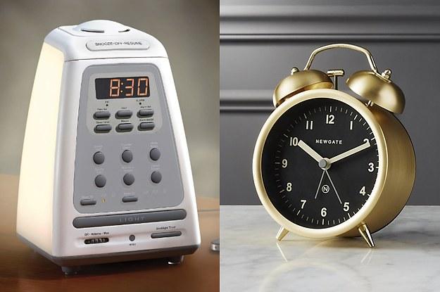 bed shaking alarm clock will wake