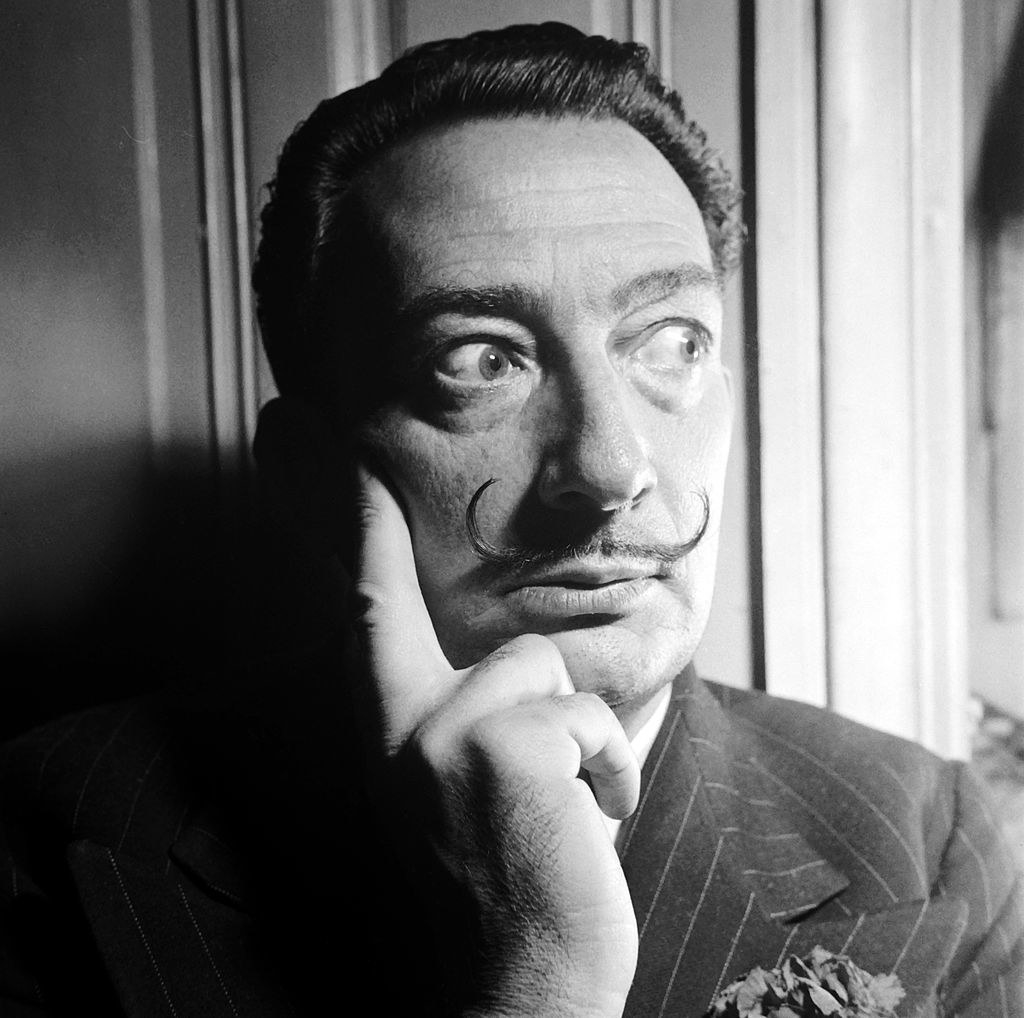 Salvador Dali S Mustache Is Still Intact Almost 30 Years