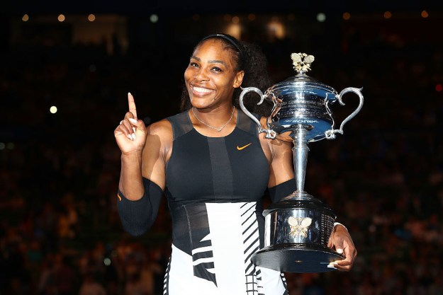 So you know Serena Williams. She's the queen of tennis, queen of Twitter, and now we can ~officially~ crown her queen of Instagram.