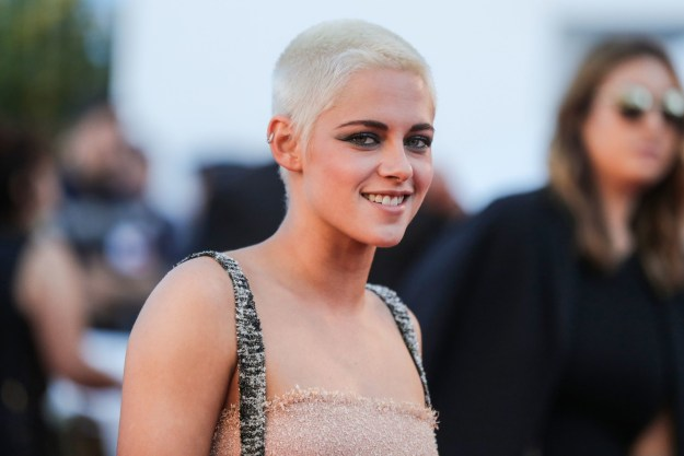 And this is Kristen Stewart — actress, queer icon, and a surprise wedding guest.