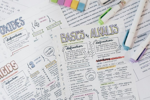 Or maybe taking notebook inspiration from Studyblr has helped you do better in school, or just let you embrace and celebrate your love of learning.