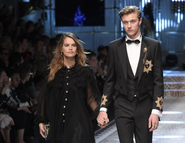 They're low-key a young power couple! Stormi Bree is a former Miss Teen USA and Lucky Blue is one of the most in-demand male models alive.