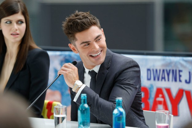 This is Zac Efron.