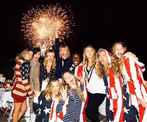 And they have iconic themed outfits and somehow manage to take photos of fireworks which I thought was humanly impossible.