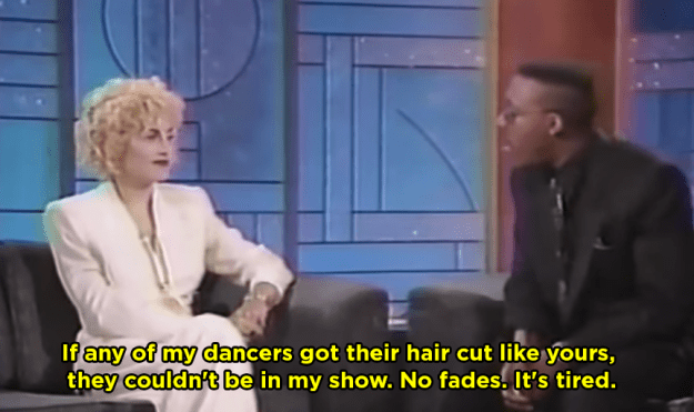 When Madonna dissed Arsenio Hall's haircut: