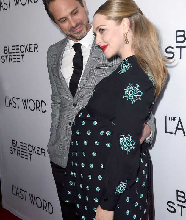 ...to becoming an overjoyed new mother to a baby girl. Amanda and husband Thomas Sadoski announced the arrival of their bundle of joy in late May.