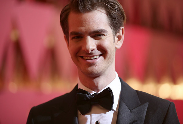 So, Andrew Garfield is currently starring in Tony Kushner's Angels in America — a play where he stars as Prior Walters, a gay man living with AIDS in America.