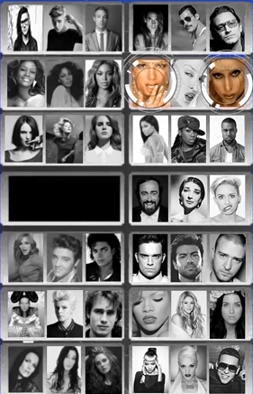 The creator even offered a plethora of options when it came to pop star fighters, including everyone from Whitney Houston to Daddy Yankee.
