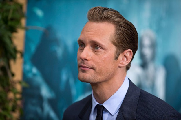 Whew! Ok, here's the skinny. So, you know Alexander Skarsgård? The beautiful, Swedish giant who was sent down from heaven to grace our screens with his talented acting and gorgeous face?