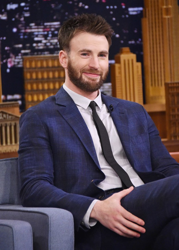 So obviously, Chris Evans needs no introduction.