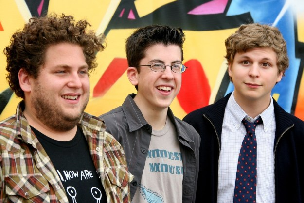 The Jonas Brothers were there! Just kidding, this is the cast of Superbad — the huge hit movie of that summer.