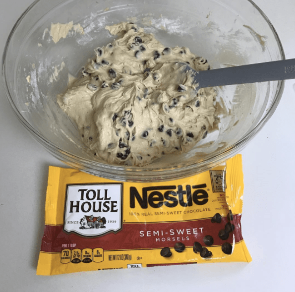 Like the original Toll House chocolate chip cookie recipe that practically everyone swears by...