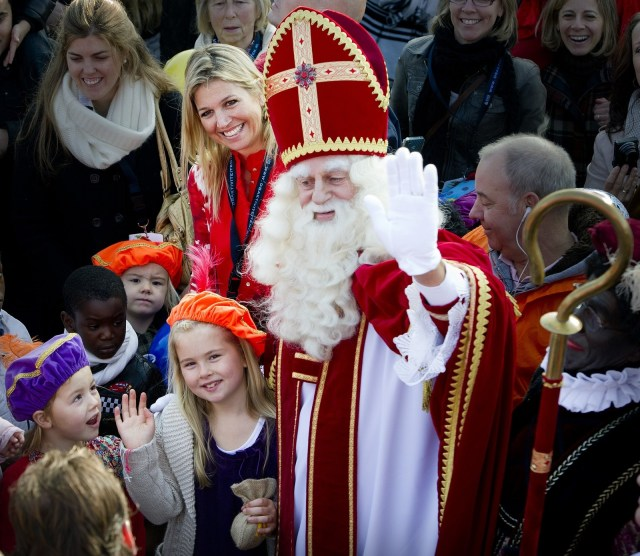 """Santa Claus is known as """"Kerstman"""" by Dutch children, and is still expected to drop off a few presents every December 24."""