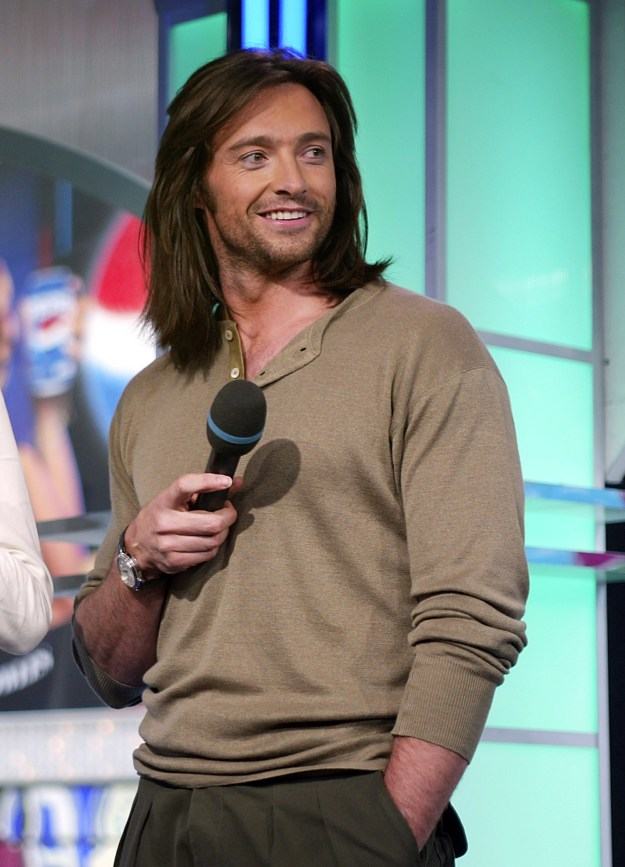 I was shocked. How had I forgotten the phase in 2003 when Hugh Jackman had long hair?