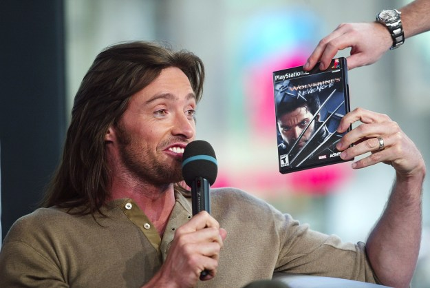 I was browsing through old TRL photos the other day when I came across these beauties of Hugh Jackman promoting X-Men.