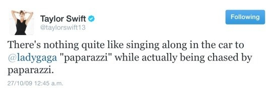 That time she was basically Lady Gaga.