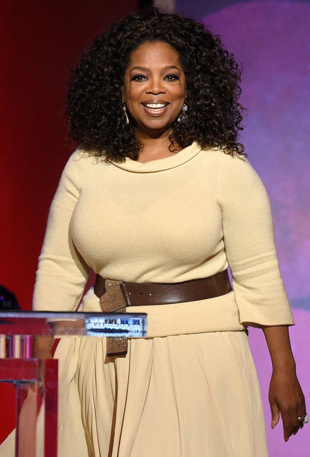 Oprah Winfrey — actor, producer, and TV personality