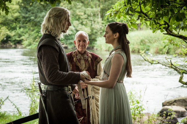 In the Season 7 finale, Game of Thrones once and for all confirmed a decades-old fan theory, revealing that Rhaegar and Lyanna Stark were married, and that their son, Jon Snow, is actually a legitimate Targaryen named Aegon.