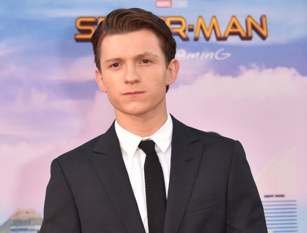This is Tom Holland; you might recognize him as the new Spider-Man.