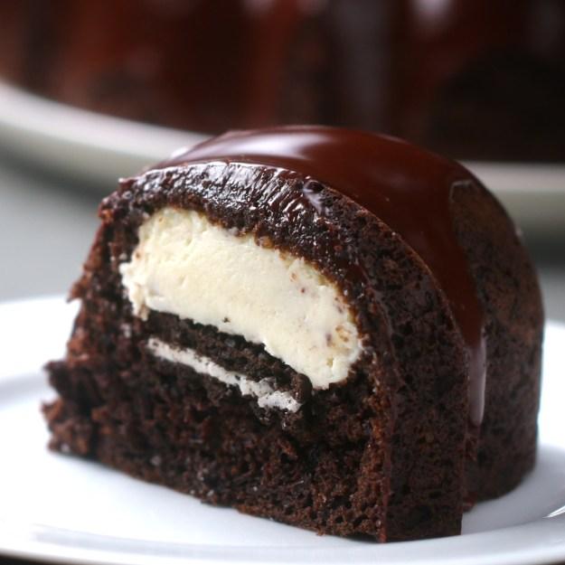 贅沢チョコリングケーキ