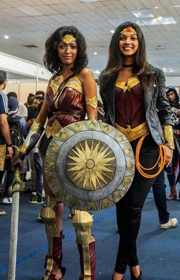 Amaya Suriyapperuma and Seshani Cooray are two such fans from Sri Lanka, who both decided to cosplay as the character at the Lanka Comic Con last month.