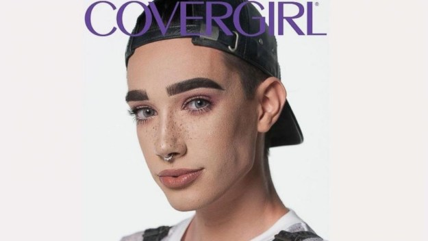 He's also the first guy Covergirl.