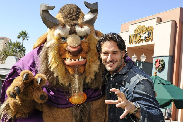 Joe Manganiello getting his beast on.