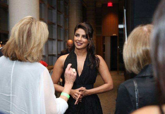 Priyanka Chopra was recently at the Toronto International Film Festival for the premiere of her production, Pahuna.