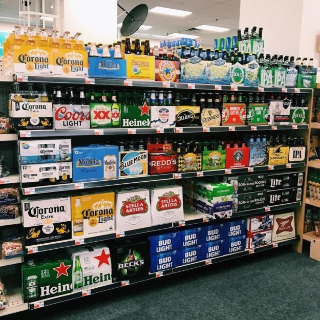 Seriously, why is it that in some states you can buy beer in a pharmacy but not in an actual liquor store?