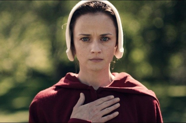 Over the weekend, Alexis Bledel took home her first Emmy for Outstanding Guest Actress in a Drama Series as Ofglen in The Handmaid's Tale, which is so freaking deserved.