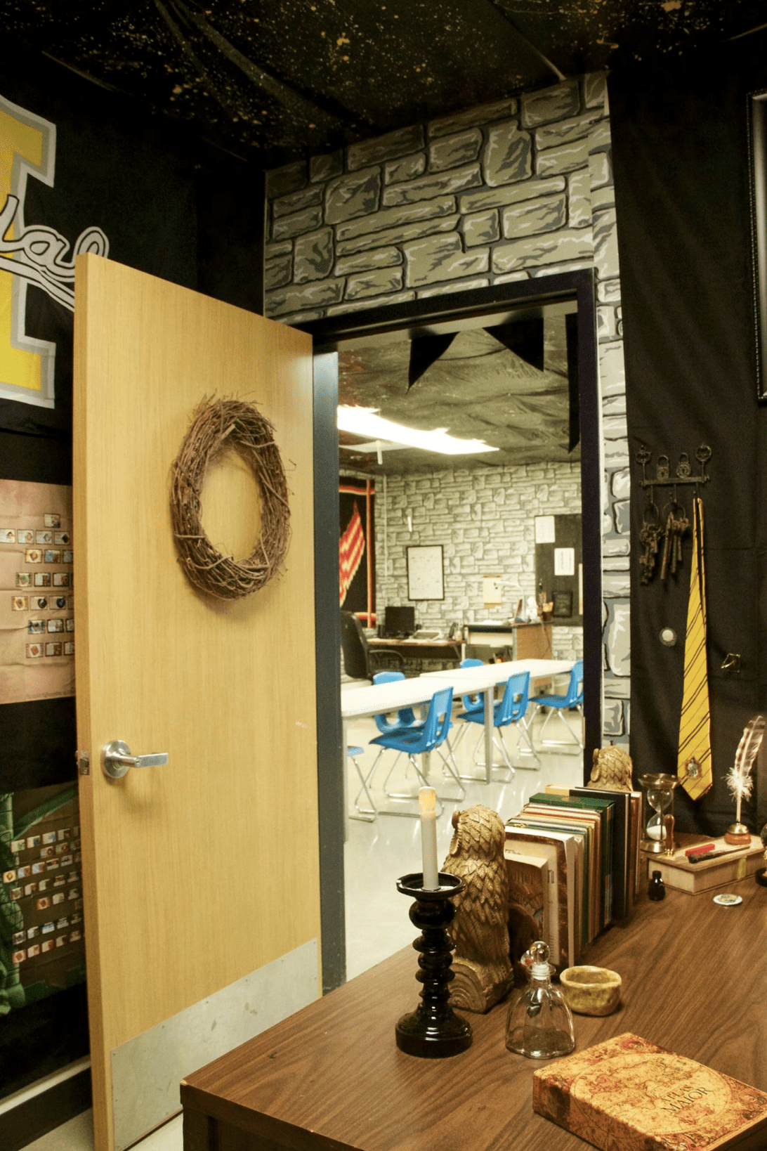 Images Of This Harry Potter Classroom Have Gone Viral And