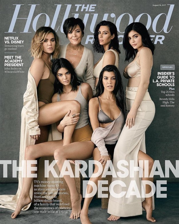So yesterday in a work meeting, my co-workers and I were talking about the Kardashians, you know, as one does.