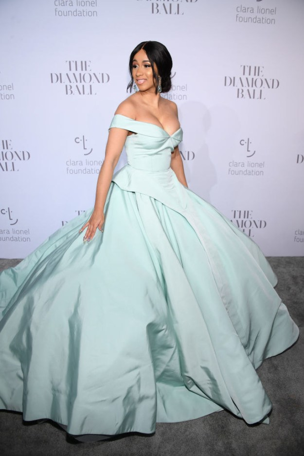 And when it came to Rihanna's Diamond Ball on Sept. 14, our girl didn't hold back!